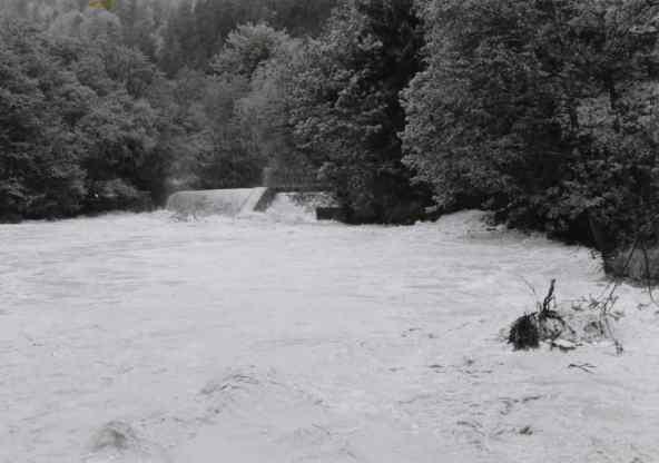 Fluss am Köberl