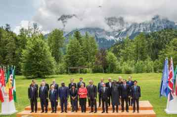Familienfoto der G7 und Outreacher