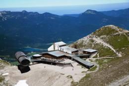 Karwendelbahn und Naturinformationszentrum