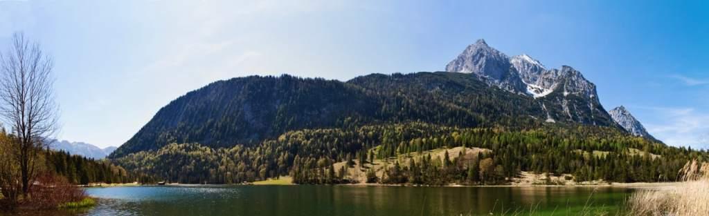 Ferchensee und Wetterstein