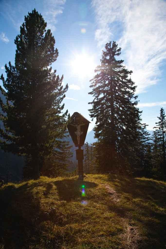 Kreuz an der Hochlandhütte
