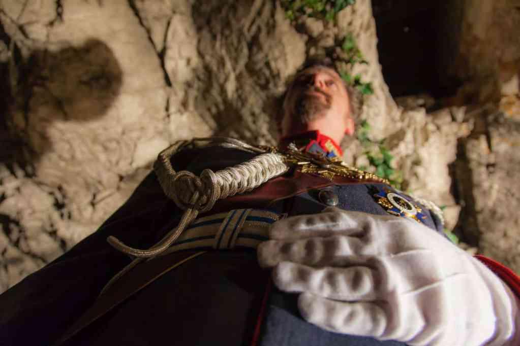 König Ludwig II in der Grotte