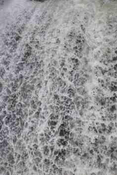Tosende Wassermassen der Kuhflucht