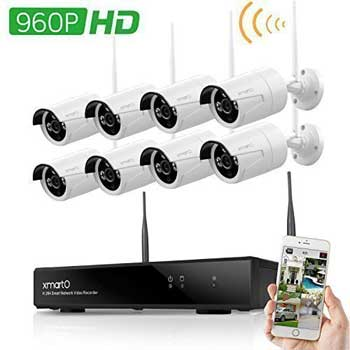smarto 8 channel security camera kit