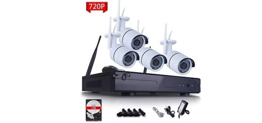 4 channel wireless camera system