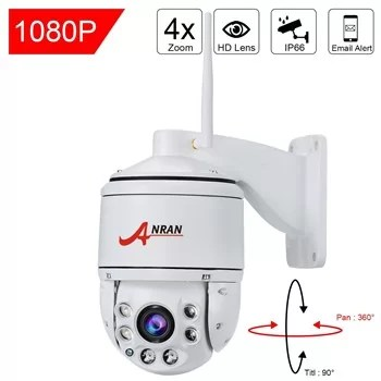 Anran 1080p wireless PTZ 4x optical zoom
