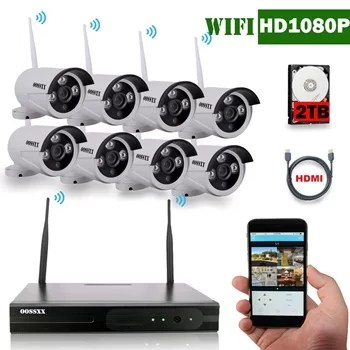 8 channel wifi nvr system