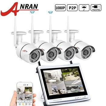 Anran 4 channel 1080p with 4 cameras