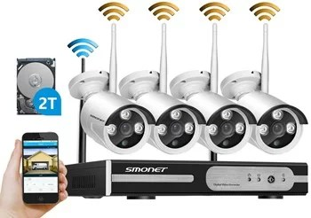 Smonet 4 channel wireless system