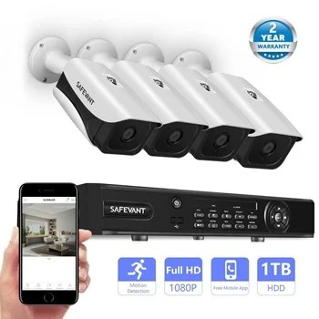 Safevant 4 channel 1080p AHD system