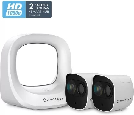 Amcrest smart home wire-free camera kit