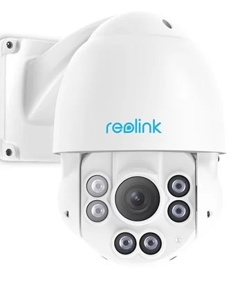Reolink RLC423 POE PTZ camera with 4x optical zoom