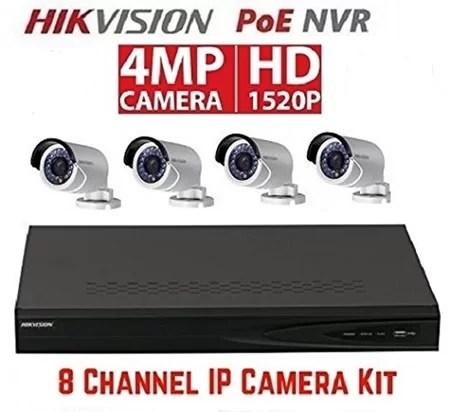 Hikvision 8 channel nvr system