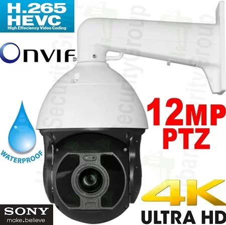 USG 4k PTZ Security Camera with 22x Optical Zoom
