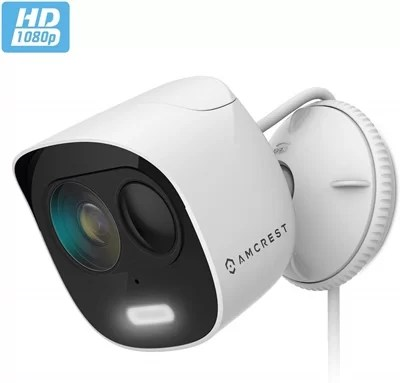 Amcrest acd2w wifi cameras with spotlight