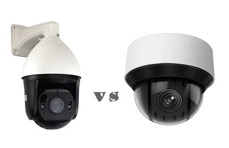 GW Security vs Hikvision PTZ camera