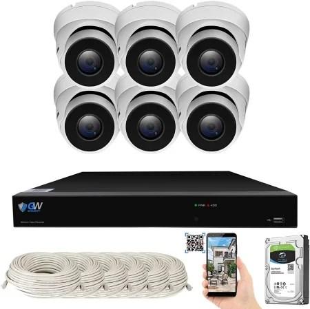 GW Security 8 channel AI kit