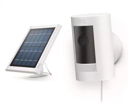 Ring Stick Up with Solar panel