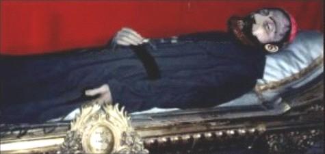 Cuerpo incorrupto de San Ezequiel