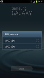 Maxis Network Selection
