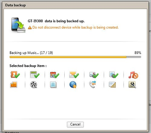 how to delete messages using samsung kies