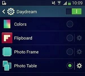 daydream display items
