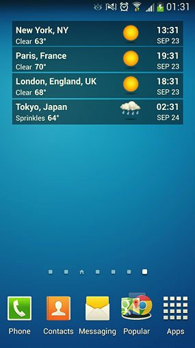 world clock and weather widget_2