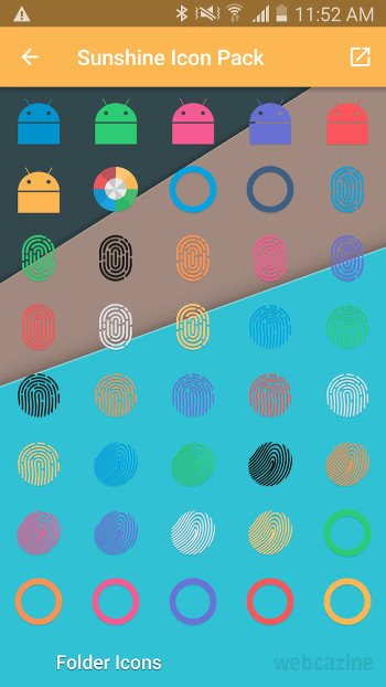 sunshine fingerprint icons_1