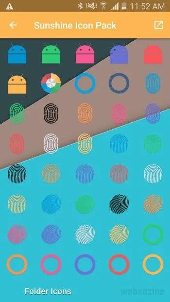 sunshine fingerprint icons_1