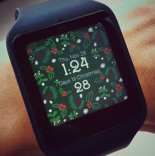 christmas countdown watch face_1