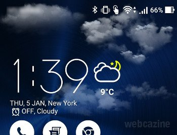 zenfone adjust weather animation