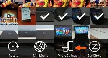 zenfone photo collage
