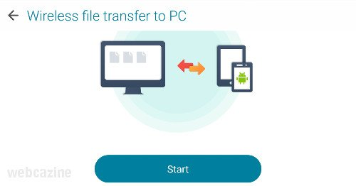 zenfone wireless file transfer