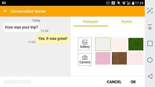 v20 message custom background