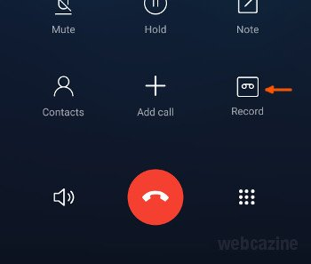 miui call recording button