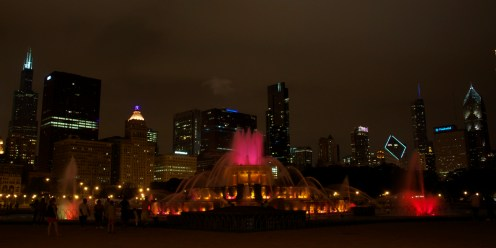 Fountain Chicago 10x20 red