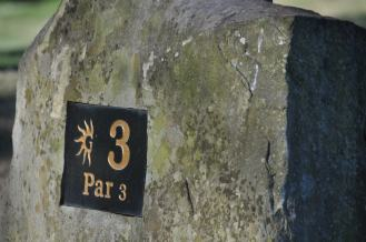 The Number 3 hole at Gaylord Springs