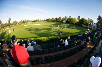 Luxurious driving range facility at Augusta