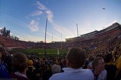 A packed Rose Bowl