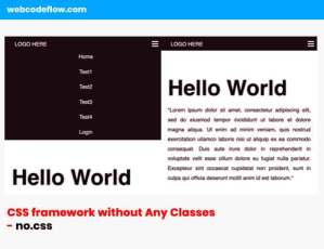 CSS-framework-without-Any-Classes