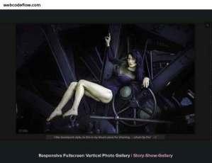 Fullscreen-Vertical-Photo-Gallery