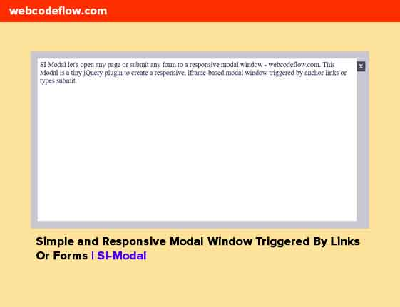 Modal-Window-Triggered-By-Links-Or-Forms-SI-Modal