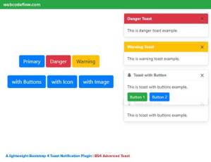 Bootstrap-4-Toast-Notification-Plugin