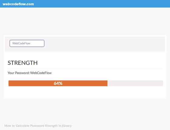 Calculate-Password-Strength-in-jQuery