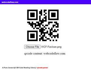 Javascript-QR-Code-Reading