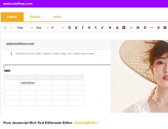Rich-Text-Editorweb-Editor