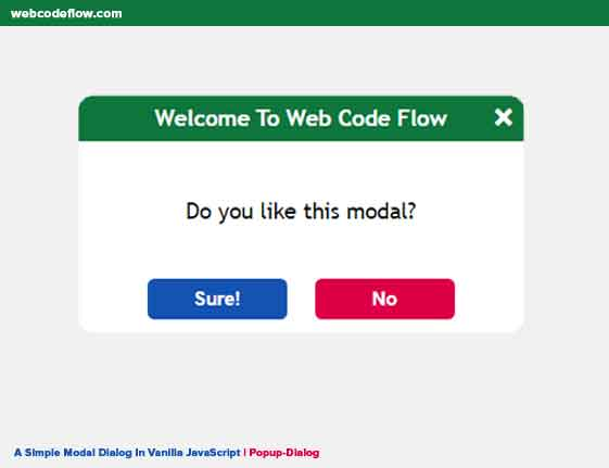 Simple-Modal-Dialog