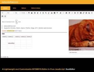 WYSIWYG-Editor-SunEditor