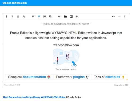 wysiwyg-froala-editor