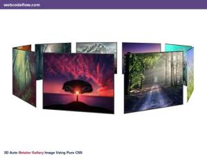 3D-Auto-Rotator-Gallery-Image-Using-Pure-CSS